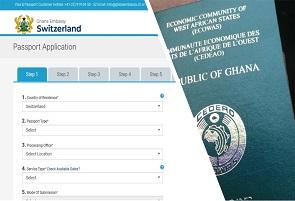Ghanaian Passport Application